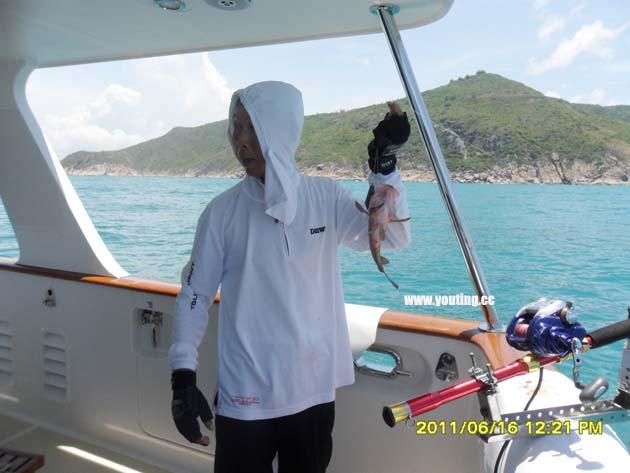 豪华游艇出海海钓套餐